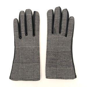Zara Plaid Gloves NWOT